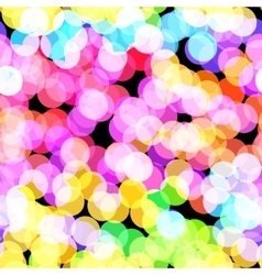 Disco bokeh vector