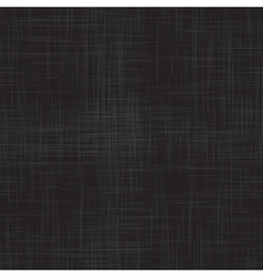 Black linen seamless texture vector