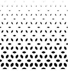 halftone pattern vertical falling rhombuses vector image vector image
