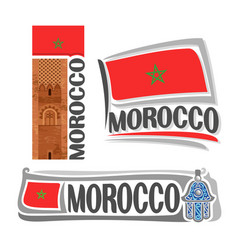 Logo for morocco vector