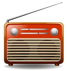 Radio vector image vector image