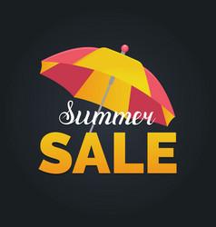 Summer sale background season discount vector