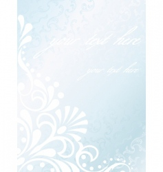 Victorian white satin background vector image vector image