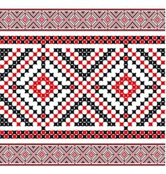 ukrainian pattern 04 vector image