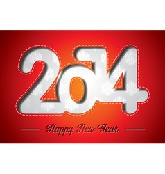 Happy new year 2014 celebration background vector