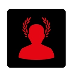 Caesar icon from award buttons overcolor set vector