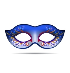 Carnival mask for masquerade costume vector
