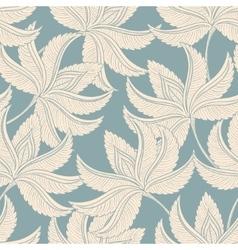 Vintage gentle pattern vector image