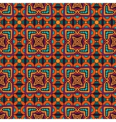 vintage tiles onamental pattern vector image