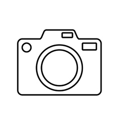 Camera gadget photography icon graphic vector