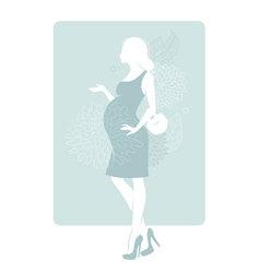 pregnancy vector image