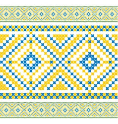 Ukrainian pattern 05 vector