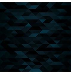 Dark Triangular Mosaic Background vector image vector image