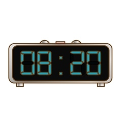 Digital clock and timer icon design vector
