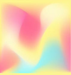 Iridescent light colorful background vector
