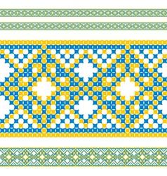 ukrainian pattern 06 vector image