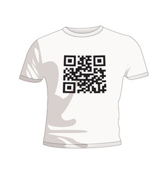 Business qr code vector