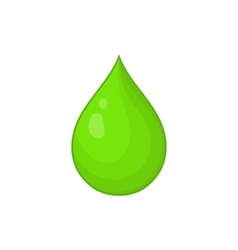 Drop of water icon cartoon style vector