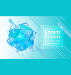 abstract geometrical background banner copy space vector image vector image
