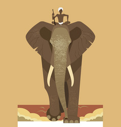 Elephant and mahout vector