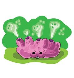 Acid moss vector