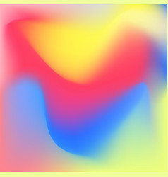 Iridescent colorful background vector