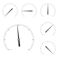 Measuring scale Universal circle vector image vector image