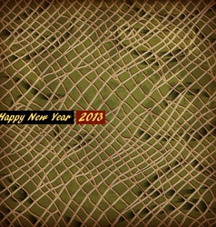Texture of skin snake symbol 2013 new year vector