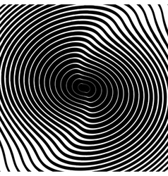 Design monochrome whirl circular motion background vector