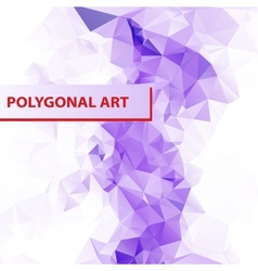 Abstract Triangle Shape Background layout for Web vector image