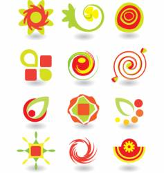elements vector image