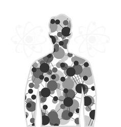 humn atoms vector image
