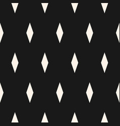 minimalist pattern with rhombuses diamonds vector image vector image