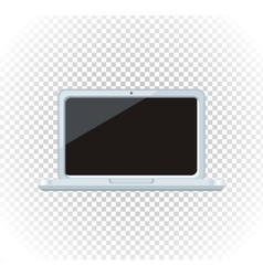 Sale of household appliances laptop vector