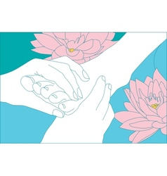 Spa and Beauty Care vector image
