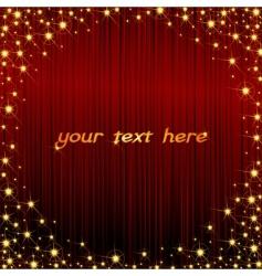 glitter frame vector image