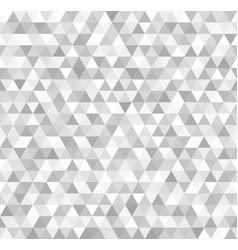 silver triangle pattern seamless metallic vector image