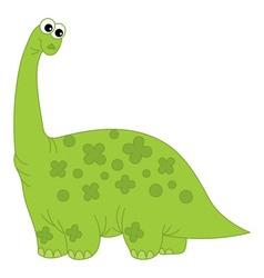 Cartoon dinosaur vector