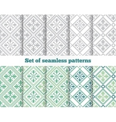 Geometrical seamless pattern vector