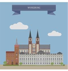 Wurzburg vector image