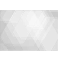 abstract geometric white and gray color modern vector image