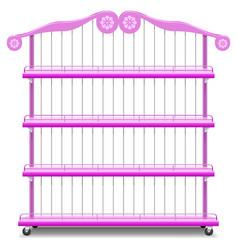 Girlish Shelves vector image vector image