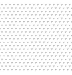 triangle pattern seamless geometric background vector image