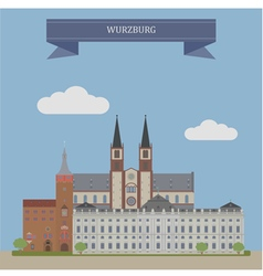 Wurzburg vector image vector image