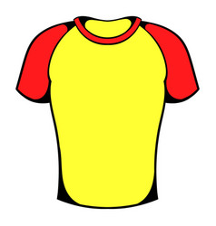 sport shirt icon icon cartoon vector image