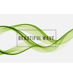 Beautiful wave background vector