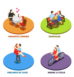 dating 2x2 design concept vector image