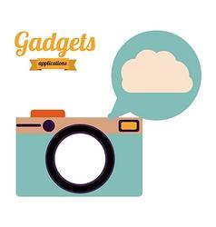 Gadgets design vector