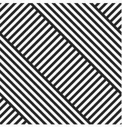 Geometric striped diagonal seamless pattern vector