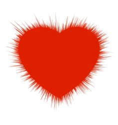 heart burst vector image